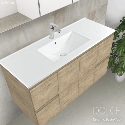 Moulded Basin-Top Vanities