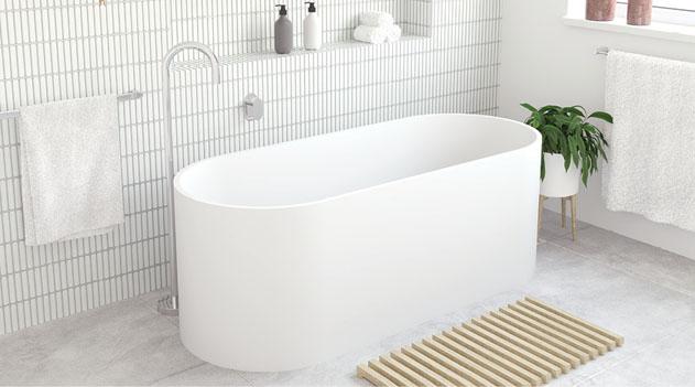 Fienza Encanto Resin Stone Bath